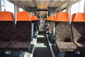 Kultúra cestovania na najvyššej európskej úrovni: interiér novej elektrickej vlakovej jednotky ZSSK radu 660.
